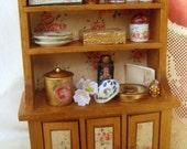 Dollhouse. Miniature sideboard