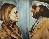 "The Royal Tenenbaums 18 x 24"" Original Painting"