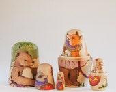 Woodland Circus Nesting Dolls