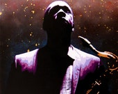 Coltrane 2: Coltrane Harder original painting
