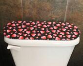 Toilet Tank Cover for Valentines Day / St. Patricks Day, Hearts / Clover Leaf / Shamrocks .