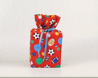Sports-Soccer/Football/Baseball/Basketball/Hockey/Golf  Kleenex Box Cover/Tissue Box Cover, Red Bathroom Accessories/Bathroom Decoration.