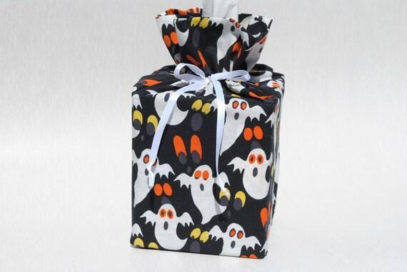 Halloween Tissue Box Cover - Cloth