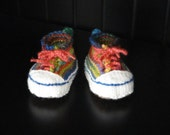 PATTERN - Knitted High Top Booties - Now Written for Multiple Sizes