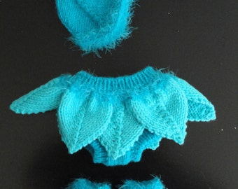 3-IN-1 PATTERN - Baby Pixie Outfit/Photo Prop