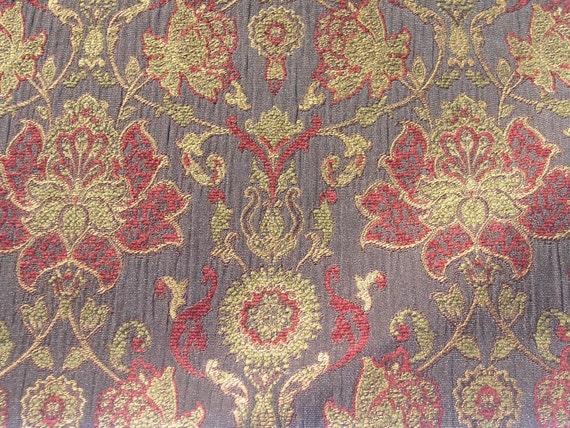 Hermes Ebony, Howard House Jacquards Collection, Kasmir Fabrics, Fabric Sample, Fabric Swatch