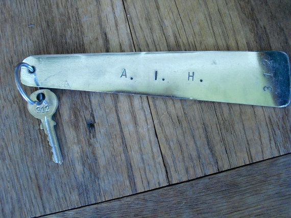 Old Key - Vintage Hotel Keys - A.I.H. Room 312