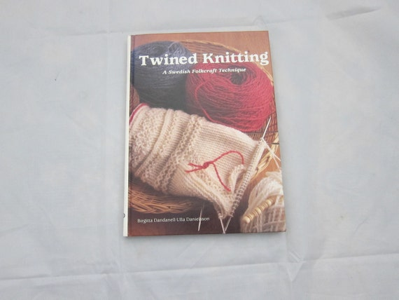 Swedish Knitting books Twined Knitting : A by VestraVintageVita