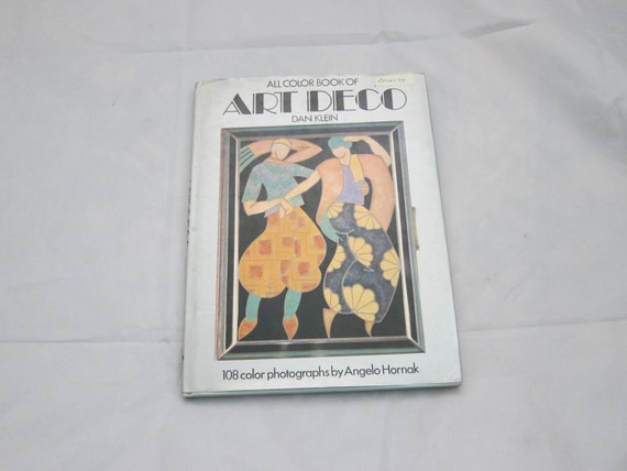 RESERVED FOR MICHELLE Vintage Art Book, 1974, Art Deco 1920s, All Colour Book, by Dan Klein, 72 pages