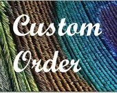 Custom Order for Cathleen Wright