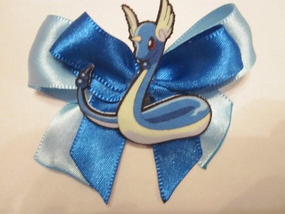 Dragonair Hair Bow