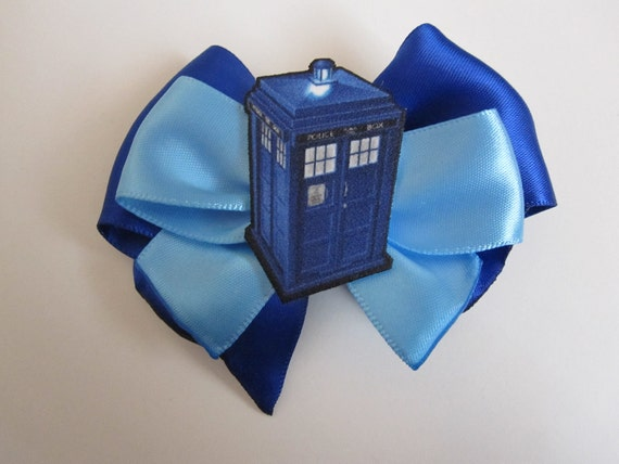 Tardis Hair Bow