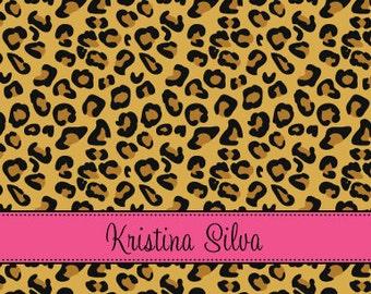 Cheetah Personal Stationery