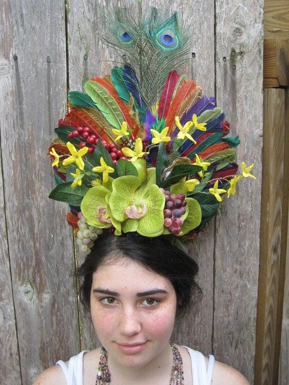 The Spring Fling Headdress