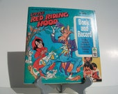 Vintage Red Ridinghood Book and Record