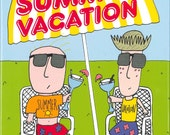 Lenny and Mel's Summer Vacation with personalized inscription