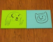 Adventure Time Paintings Jake and Finn