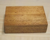 Handcrafted Balsa Wood Jewelry Box - Trinket Box - Keepsake Box