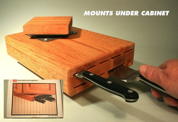 knife storage block under cabinet wusthof. Black Bedroom Furniture Sets. Home Design Ideas