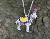 ZuZu Zebra Necklace