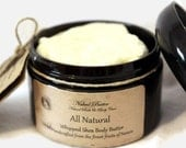 All Natural  Whipped Shea and Cocoa Body Butter 4 oz.