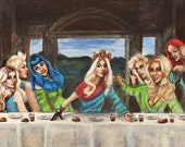 Pop Star's Last Supper Print