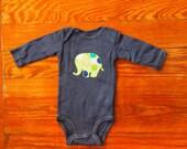 Customized Elephant Onesie