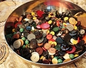 30-40 Vintage Buttons from my Vintage Button Soup Blend 1