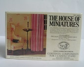 """Queen Anne Candle Stand Kit From """"The House Of Miniatures"""""""