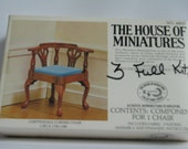 """Chippendale Corner Chair Kit From """"House Of Miniatures"""""""
