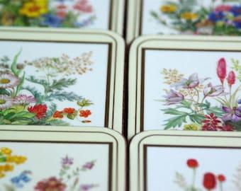 Vintage Floral Coasters by Pimpernel