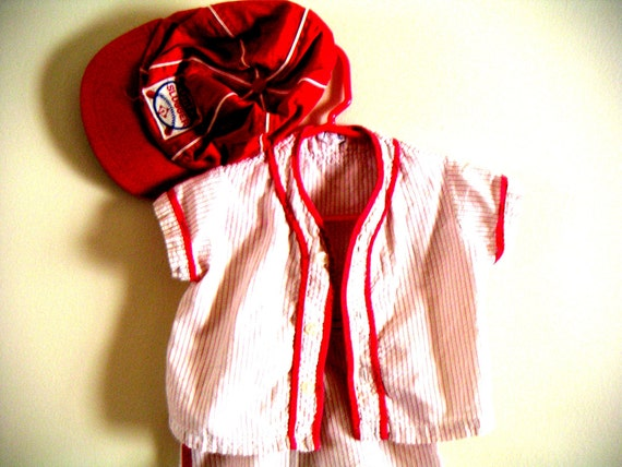 Vintage Little Slugger (3 piece). Baseball, Boys of Summer, Little League,Boys Clothes,Toddlers,Spring 2013
