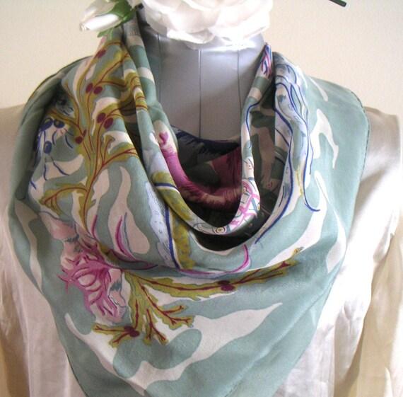 Liberty of London Vintage Silk Scarf
