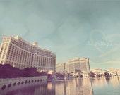 Hotel Bellagio Vegas, Bellagio Hotel Vegas, Las Vegas Photograph, Las Vegas Art, Thoughtful Gift, Oceans Eleven Casino, Ocean's Eleven Hotel