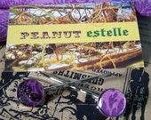 Resin Bobby Pins Lavender Love Fabric Metal Resin Purple Floral Printed Beaded Silver Vintage Upcycle Recycle