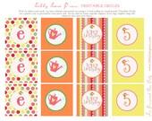 Garden Party Collection: Printable Party Circles