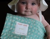 MAINE PILLOW PAD custom for baby: Waterproof changing pad with soft organic pillow - Choose two fabrics