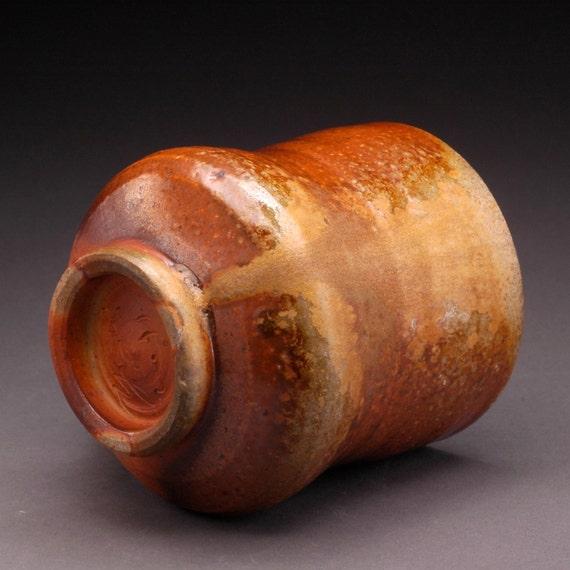 Wood Fired Coffee Mug with Beautiful Ash Drips (M6)