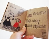 Little red riding hood book / zine