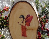 Rachel fairy, handmade Christmas tree decoration