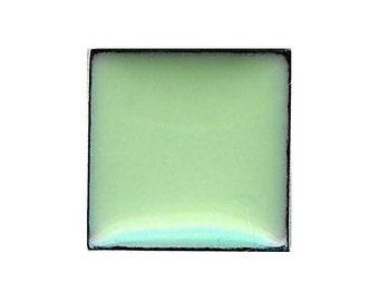 1308 Lichen (Green) Opaque Lead-free Powdered Glass Enamel 1oz.