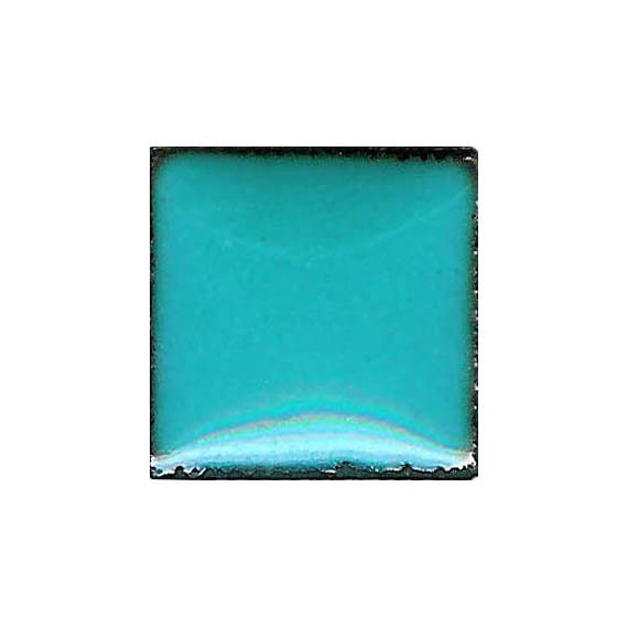 1420 Mint (Blue-Green) Opaque Lead-free Powdered Glass Enamel 1oz.