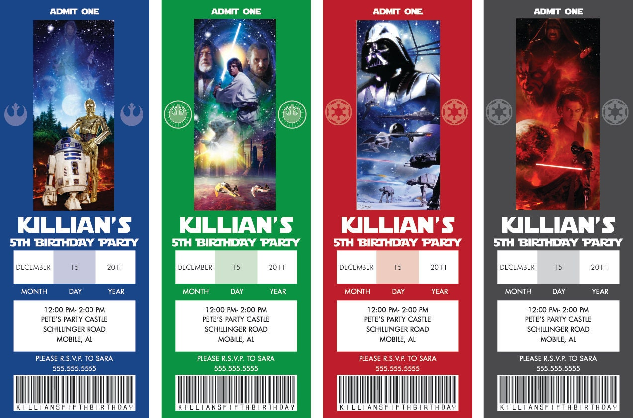 Star Wars Party Invitation Wording as best invitations sample