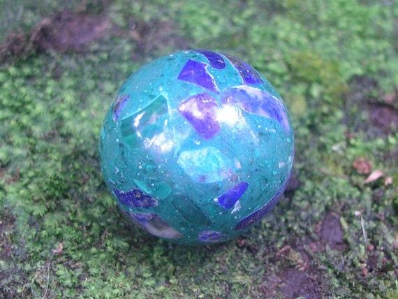 Lapis Lazuli in Malachite Gemstone Sphere