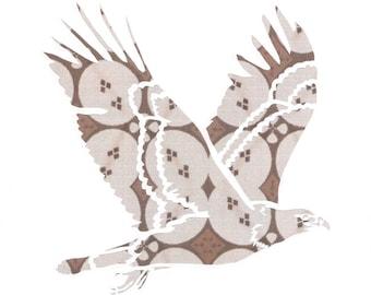Papercut Print - Bald Eagle