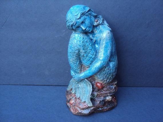 Statuary Stone Mermaid