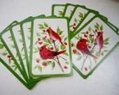 ON SALE Retro Cardinal Hallmark Playing Cards