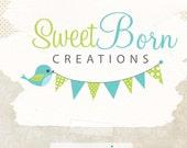 Cute logo premade -  logo design - graphic design logos - photographer logo - boutique logo