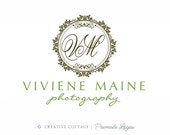 L'Victoria - DIY Vintage Stamp Logo and Watermark For Photographers & Small Businesses (PSD File)