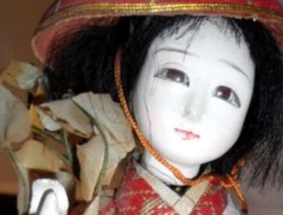 Vintage 1960s Japanese Geisha Doll, from Disneyland, Memorabilia, Collectible